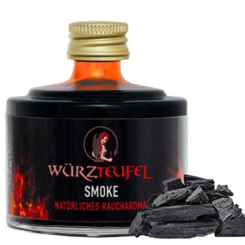 Raucharoma Natürliches Hickory Rauch Aroma aus naturbelassenen Hölzern. Flasche 40 ml.