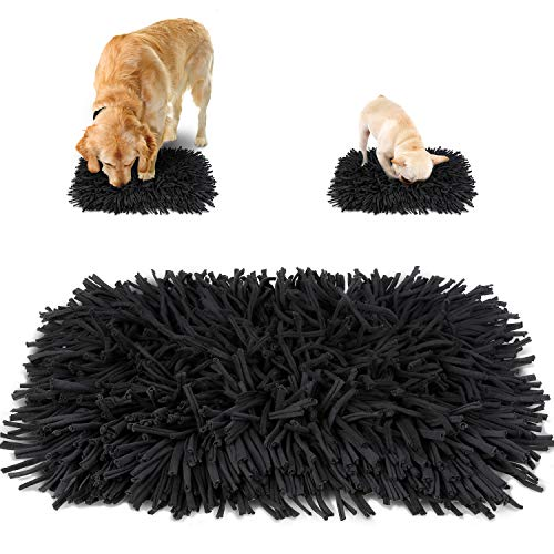 amzdeal Pet Snuffle Mat - Durable Feeding Mat (23' x 17') for Small & Large Dogs, Anti Slip Slow Feeding Mat, Machine Washable, Design for Pet Natural Foraging Skills and Stress Releasing, Any Breed