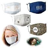 LS-LebenStil Community Stoffmaske Alles Wird gut 100% Baumwolle Mund-Nasen-Schutz waschbar