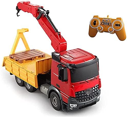 WANIYA1 Rc Coches Ingeniería Camión Crane Transportador de...