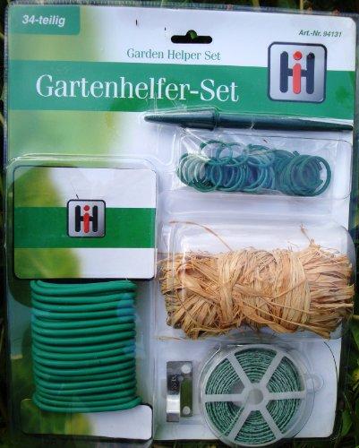 Gartenhelfer-Set Garten-Set 34-teilig für Blütepflanzen und Gemüse-Pflanzen