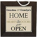 The Grandparent Gift Grandpa Home Sign Grandma Gift: Decorative