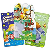 Bendon Publishing Bible Story Board Book Set for Kids Toddlers -- Bundle of 3 Deluxe Illustrated Christian Stories (Christian Gifts for Kids)
