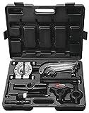 KS Tools 700.1200 Pack extractores, hidráulicos, 10 toneladas, en maletín de plástico, Set de 22 Piezas