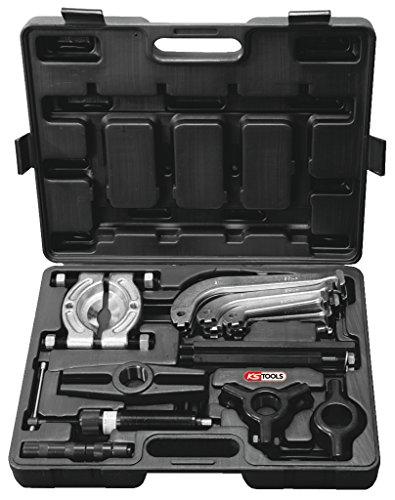 KS Tools 700.1200 Hydraulischer Abziehersatz 2-armig und 3-armig, 22-tlg.