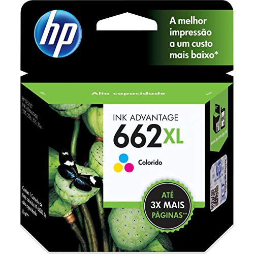 Cartucho HP 662XL Colorido Original - (CZ106AB)