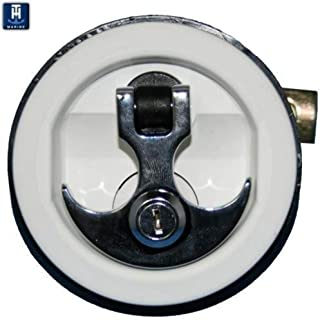 ANCHOR HANDLE LOCK WHITE