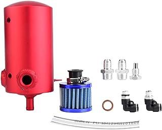 KIMISS Car Oil Catch Tank, Aleación universal de aluminio 0
