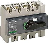 Schneider Electric 28913 Compact INS160 Interruptor-Seccionador, 4 Polos, 160A, 62.5mm x 135mm x 100mm