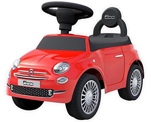 足けり乗用玩具 フィアット500 足けり乗物玩具 FIAT500 足けり玩具正規ライセンス (レッド)