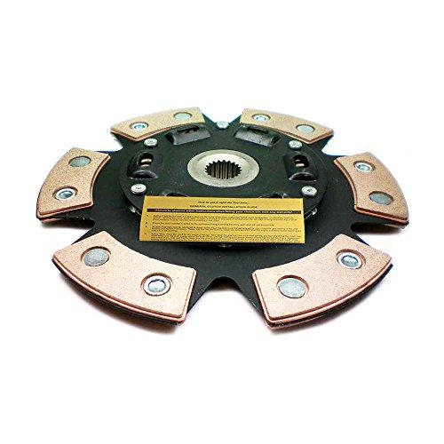 EFT STAGE 3 CERAMIC CLUTCH DISC PLATE 210mm FOR TOYOTA CELICA COROLLA MATRIX MR-2