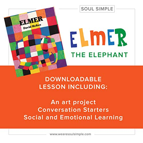 Elmer the Elephant Lesson : Social and Emotional Learning (Soul Simple Book 2) (English Edition)