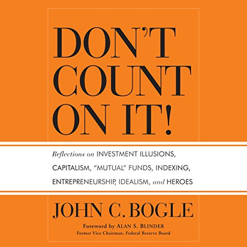 Don't Count on It! audiobook cover art