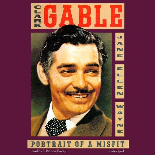 Clark Gable audiobook cover art