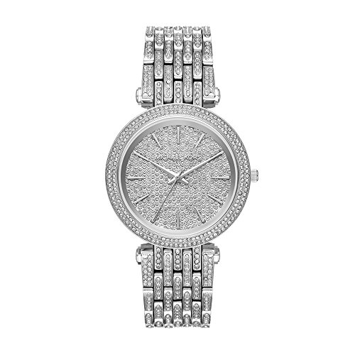 Michael Kors Damen Analog Quarz Uhr mit Edelstahl Armband MK3779