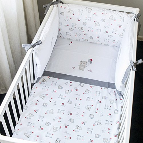 Parure de lit 3pcs Ourson Teddy