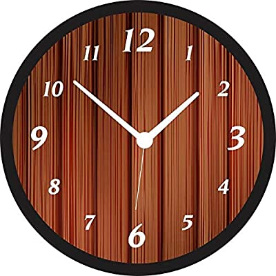 Texture Wall Analog Clock (WATH Glass)