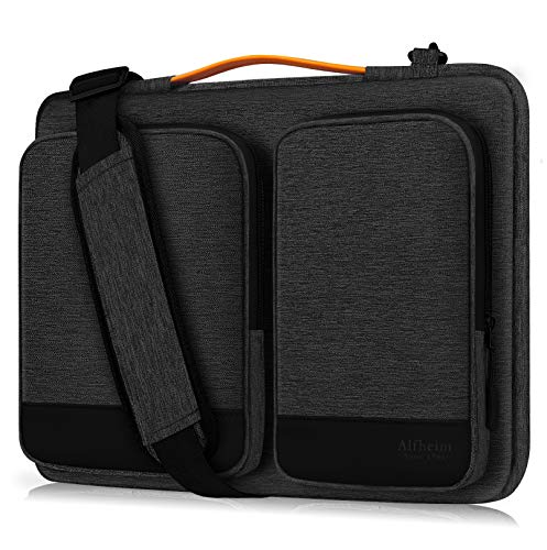 Alfheim 13-13.3 inch Laptop Sleeve Briefcase, Waterproof Shock-Resistant Shoulder Bag, 360° Protective Notebook Case Compatible with 13.3' MacBook Air, 13' MacBook Pro Retina 2012-2015, Surface