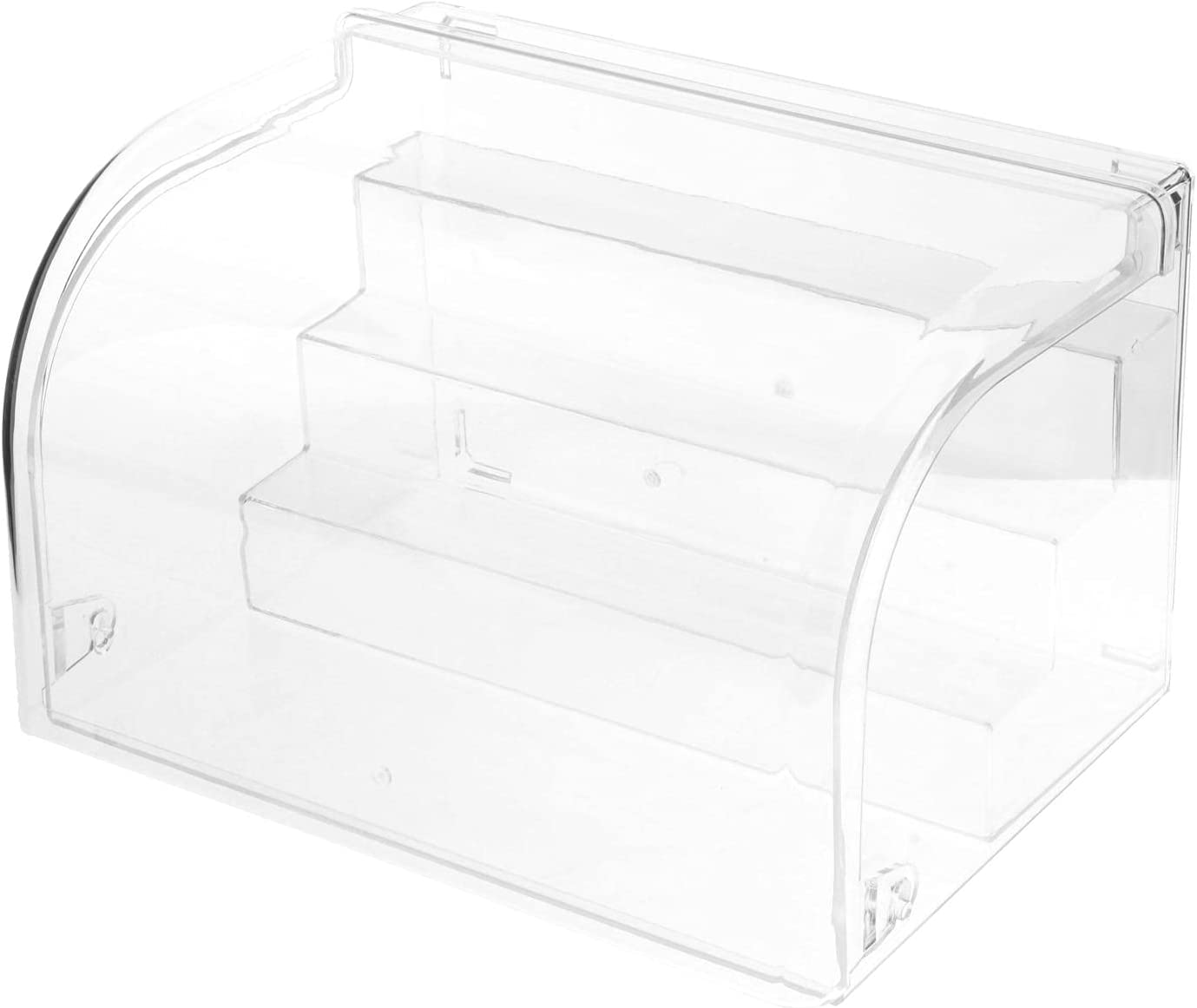AMLESO Acrylic Japan's largest assortment Display Box Protecting Large Stand Opening Closin low-pricing