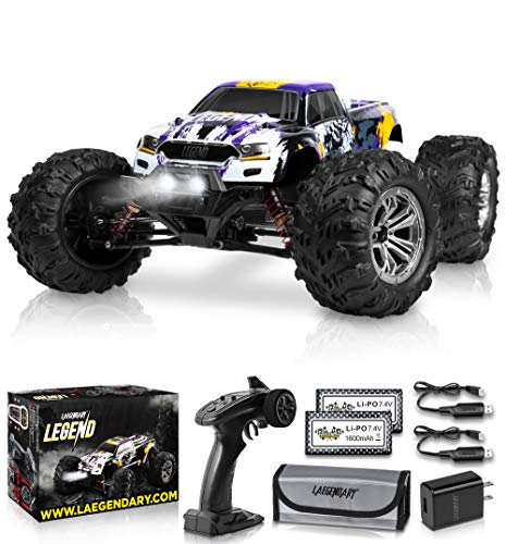 1:10 Scale Large RC Cars 50+ kmh Speed - Boys Remote Control Car 4x4...