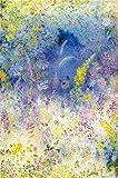 Flores Silvestres DIY Paint by Number Kits Decoración para el hogar Imagen de Pared Valor Regalo40x60cmPintura sin Marco