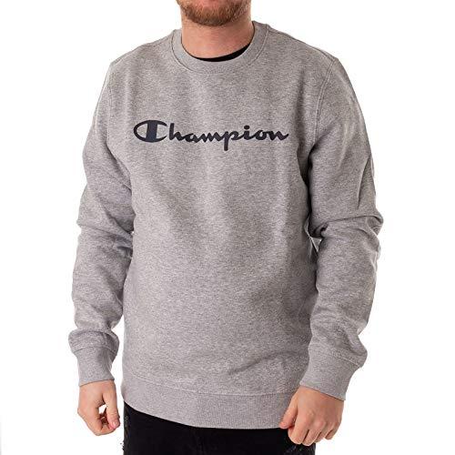Champion Sweatpulli Crewneck Comfortfit Größe: S Farbe: Grau