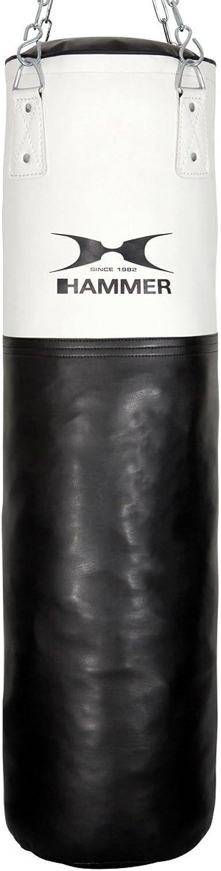 Hammer Boxsack Kunstleder Weiß Kick, weiß weiß weiß schwarz B00GO38T6Y  Wirtschaftlich und praktisch f22a98