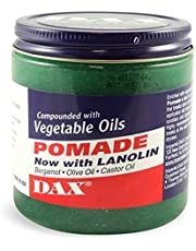 Dax Pomade With Lanolin With Vegetable Oils For Dry Hair 213 Gram