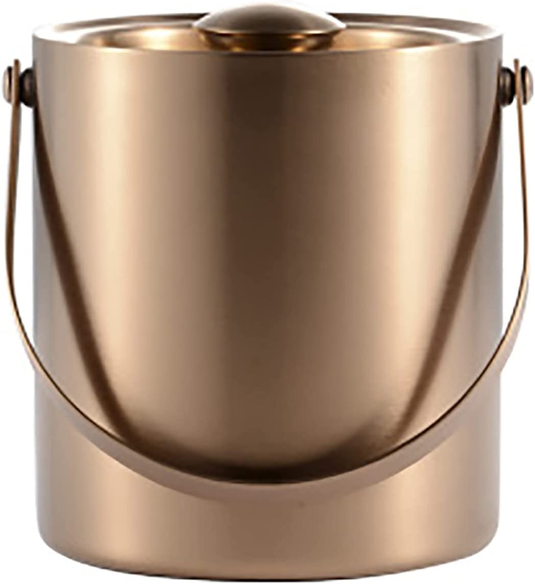 2L Be super welcome Stainless Steel Champagne Bucket Beauty products Walled Metal Double Premium