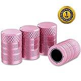 CKAuto Tire Valve Stem Caps, Pink, 4...