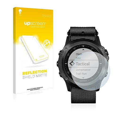 upscreen Entspiegelungs-Schutzfolie kompatibel mit Garmin Tactix Bravo – Anti-Reflex Bildschirmschutz-Folie Matt