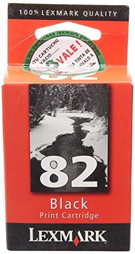 Lexmarke Patrone Nr.82 (Standardkapazität) Tinte 600 Seiten Z55/Z65/X5150/X5190Pro/X6150/X6170, schwarz