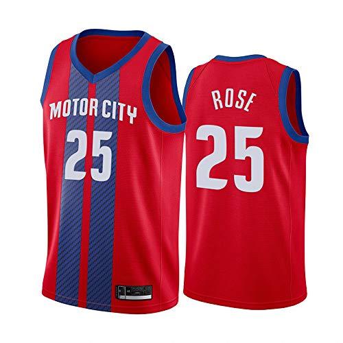 XIAOHAI NBA Sports Basketball Jersey Detroit Pistons # 23 Blake Griffin Resistente al Desgaste Transpirable Resistente a la Malla Bordada Camiseta de Baloncesto Deportes Camiseta,XL