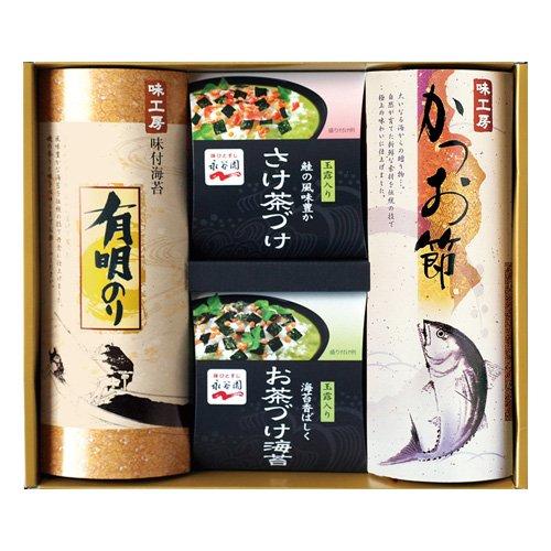味工房 永谷園お茶漬け・海苔・かつおギフト(QN-25)