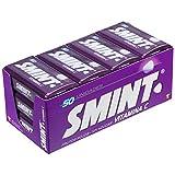 Smint Tin Frutos Rojos, Caramelo Comprimido Sin Azúcar - 12 unidades de 35 gr. (Total 420 gr.)