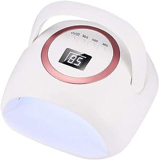 Lámpara de uñas de gel inalámbrica LED de 72 vatios, secador de uñas LED UV recargable con batería de alta capacidad de 10000 mAh, luces de uñas de gel profesionales Herramientas de manicura