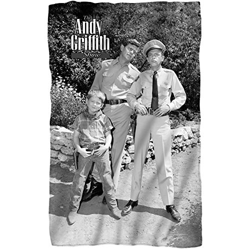 Andy Griffith - Lawmen Fleece Blanket 35 x 57in