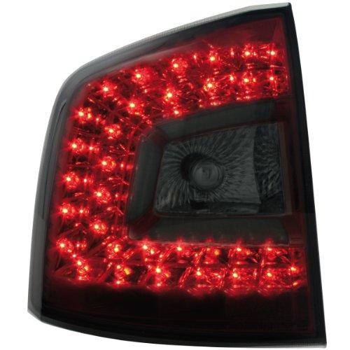 Dectane LITEC RSK03LRS LED Rückleuchten Skoda Octavia 1Z 04+ rot/rauch