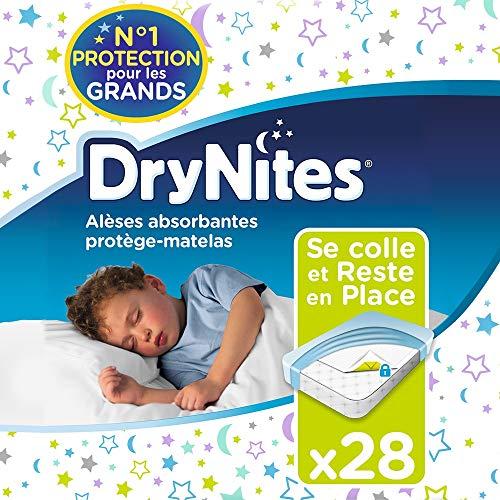 Huggies, Alèses absorbantes jetables pour lit simple (88 x 78...