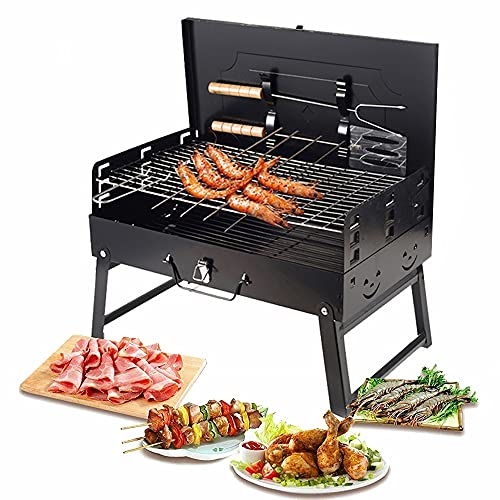 Portable Charcoal Grill (Foldable)