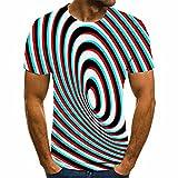 SSBZYES Camisetas De Verano para Hombre Camisetas De Manga Corta para Hombre Camisetas De Cuello Redondo Camisetas Estampadas De Gran Tamaño Parejas Camiseta Deportiva para Hombre Tops