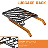 Rear Luggage Rack—Motorcycle Rear Fender Rack Mounting Rack Aluminum for DRZ400 DRZ400S DRZ400M