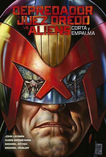 Depredador vs. Juez Dredd Vs Aliens: Corta y Empalma