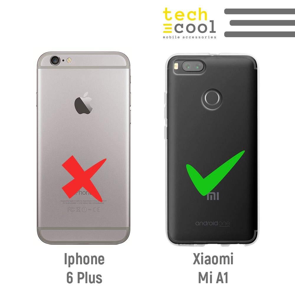 Funnytech® Funda Silicona para Xiaomi Mi A1 [Gel Silicona Flexible ...