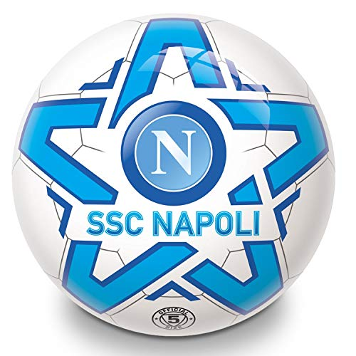Mondo Toys - Pallone da Calcio SSC Napoli per bambina/bambino - Colore bianco/azzurro  - 06172