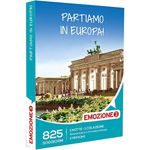 Emozione3 - Partiamo In Europa! - 825 Soggiorni In Italia e Europa In Rinomati Hotel, Cofanetto Regalo