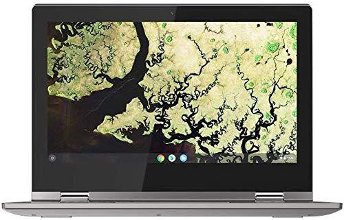 Lenovo Chromebook C340 11 Inch (11.6 Inch) HD Convertible Touchscreen Laptop - (Intel Celeron, 4 GB RAM, 64 GB eMMC, Chrome OS) - Platinum Grey