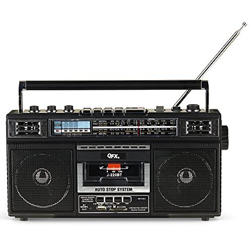 QFX J-220BT ReRun X Cassette Pla...