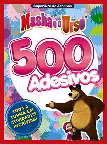 Masha e o Urso: Superlivro de Adesivos