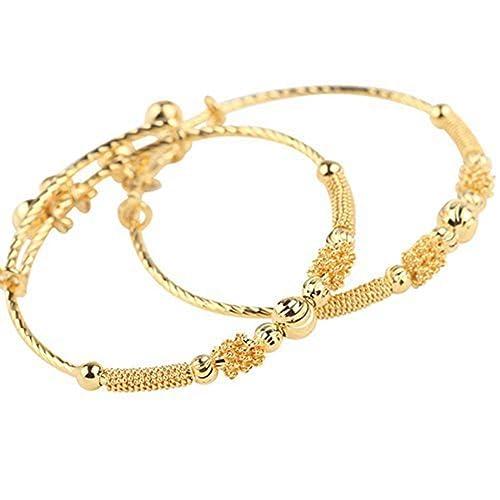 f74f24f631625 Baby Infant 14k Gold Bracelet: Amazon.com